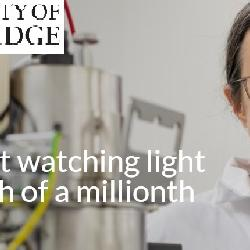 Read more at: The scientist watching light at a millionth of a millionth of a second