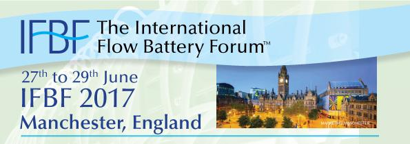 CAM-IES at the International Flow Battery Forum