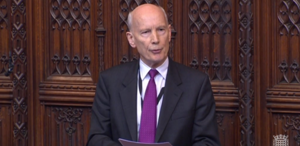 Professor Lord Mair makes maiden speech at House of Lords