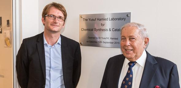The Yusuf Hamied Laboratory for Chemical Synthesis & Catalysis