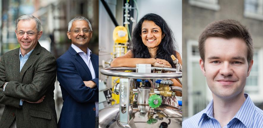 Four University of Cambridge researchers recognised in the Breakthrough Prize